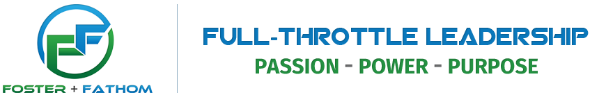Foster+Fathom Full-Throttle Leadership Logo